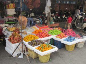 Markt in Kambodscha